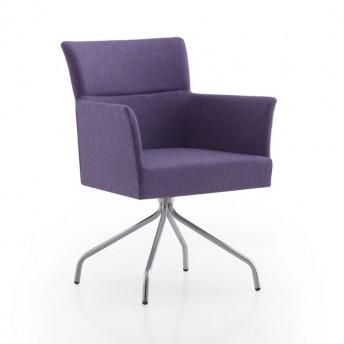 Petit fauteuil HAGEN de bureau, pied pivotant