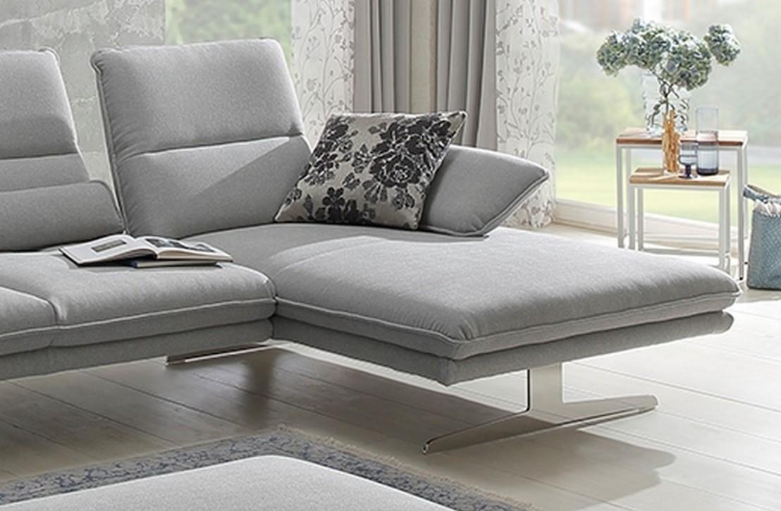 Canapé Multi Couleur tout canapé d'angle alwin.c 3,5 places chaise longue, assises réglables