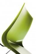 Chaises réunion SALLY coque polypropylène, lot de 6
