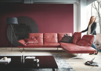 AD.SENSO, canapé d'angle minimaliste ultra design