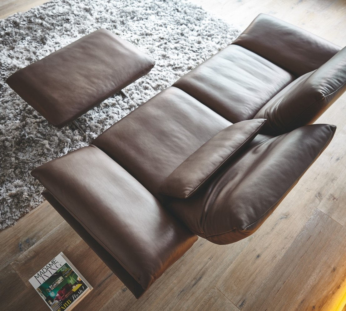 canap en cuir ou tissu design ad senso 2 5 places ultra confort seanroyale. Black Bedroom Furniture Sets. Home Design Ideas