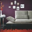 Canapé d'angle design AD.SENSO 3 places avec chaise longue ultra confort