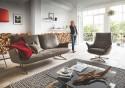 Canapé design FELT.TONES 3 places