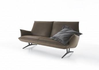 Canapé design FELT.TONES 3 places bi-matières