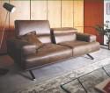 Canapé design TEMPERANT.PM 3 places, profondeur d'assise modifiable