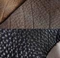 Canapé cuir épais de taureau pleine fleur EVANS.PM.ULTRA 2 places, dossiers inclinables