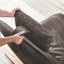 Grand canapé ultra design de relaxation HYPEnSPACE 2 places assises pivotantes et électriques