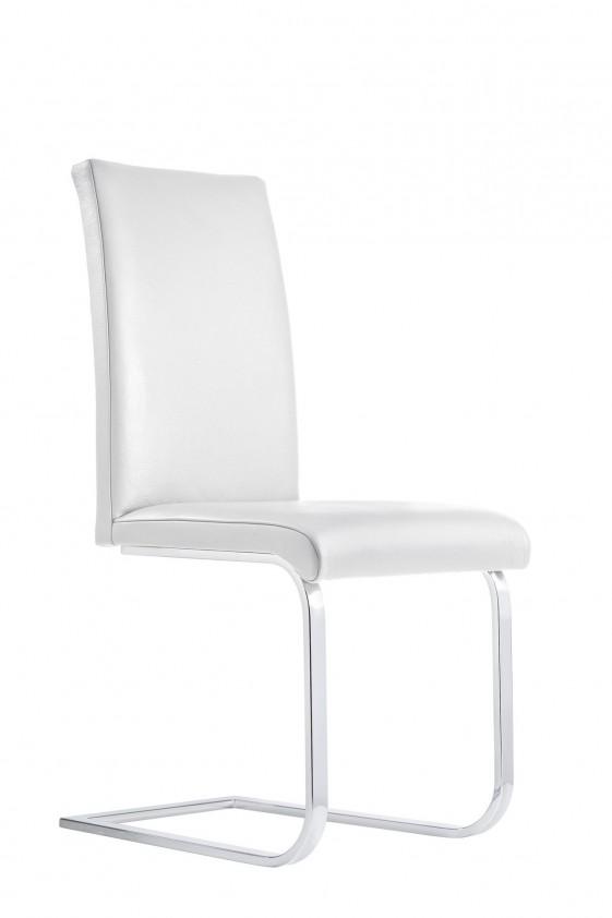 Chaise design LOFTY.M, 4 pieds ou luge cuir ou tissu par 6
