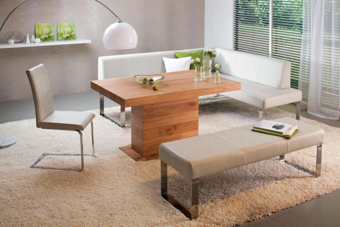 banc en cuir ou tissu seaside 140 cm. Black Bedroom Furniture Sets. Home Design Ideas