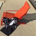 Transat ALVA, fauteuil avec accoudoirs, extérieur pour jardin en aluminium de couleur et tissu