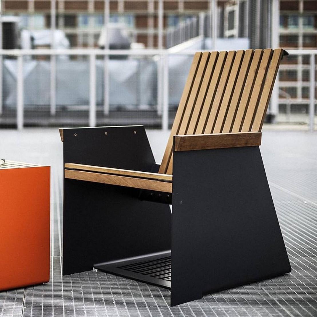 Terrasse En Palette Duree De Vie petit fauteuil extérieur de terrasse radium en métal
