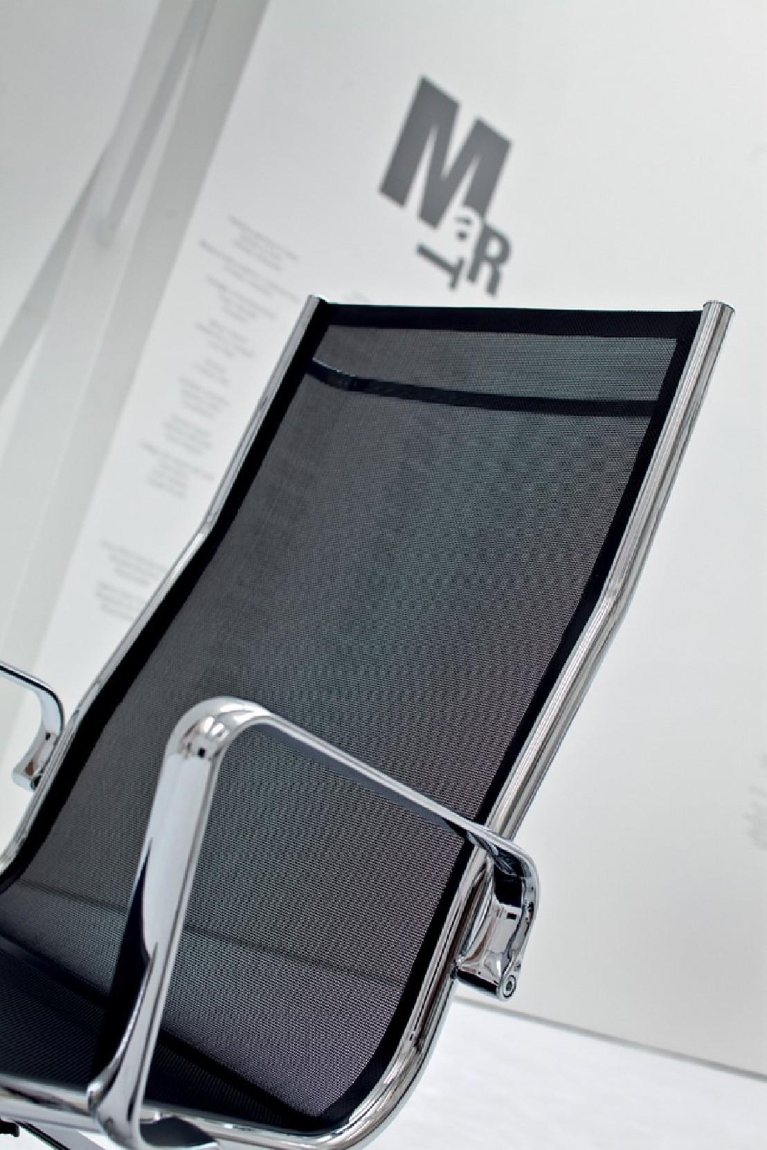 Maille Bureau Dossier Light LuxyRevêtement Design De Fauteuil Haut 0vmN8nw