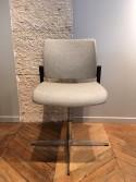 Chaise OFFICE 800 en tissu 100% laine vierge Xénon