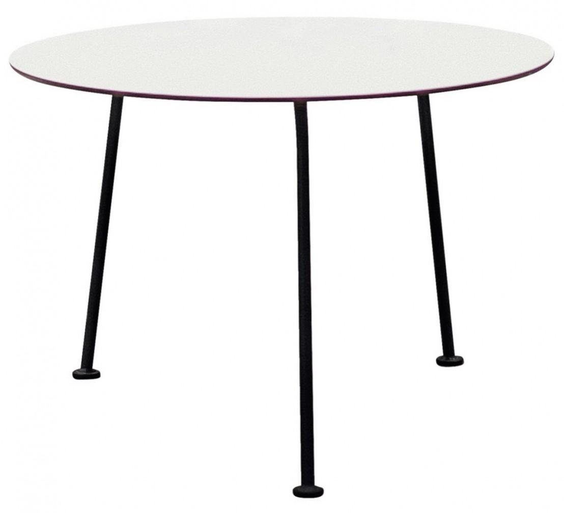 Table basse ronde 70 cm MAJ extérieur de jardin en métal acier de ...