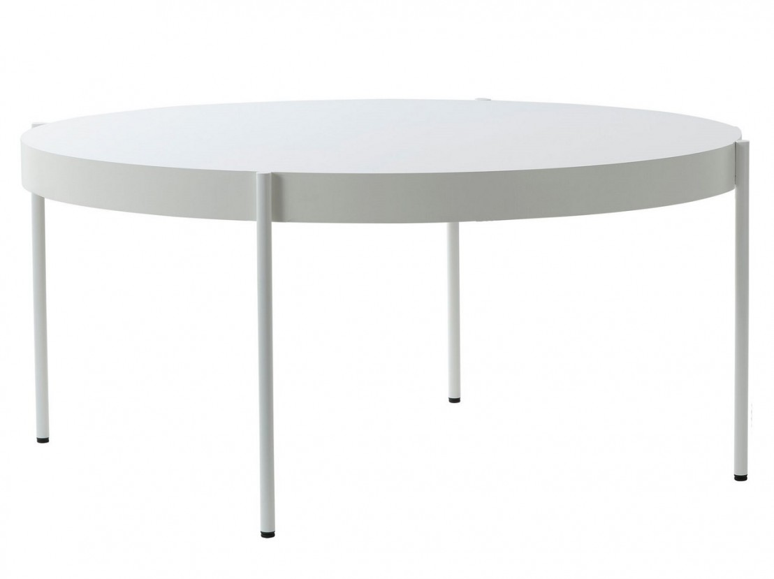 grande table ronde series 430 noire diam tre 160 cm. Black Bedroom Furniture Sets. Home Design Ideas