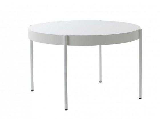 Table ronde SERIES 430 diamètre 120 cm blanche ou noire