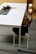Table rectangulaire Panton Move blanche
