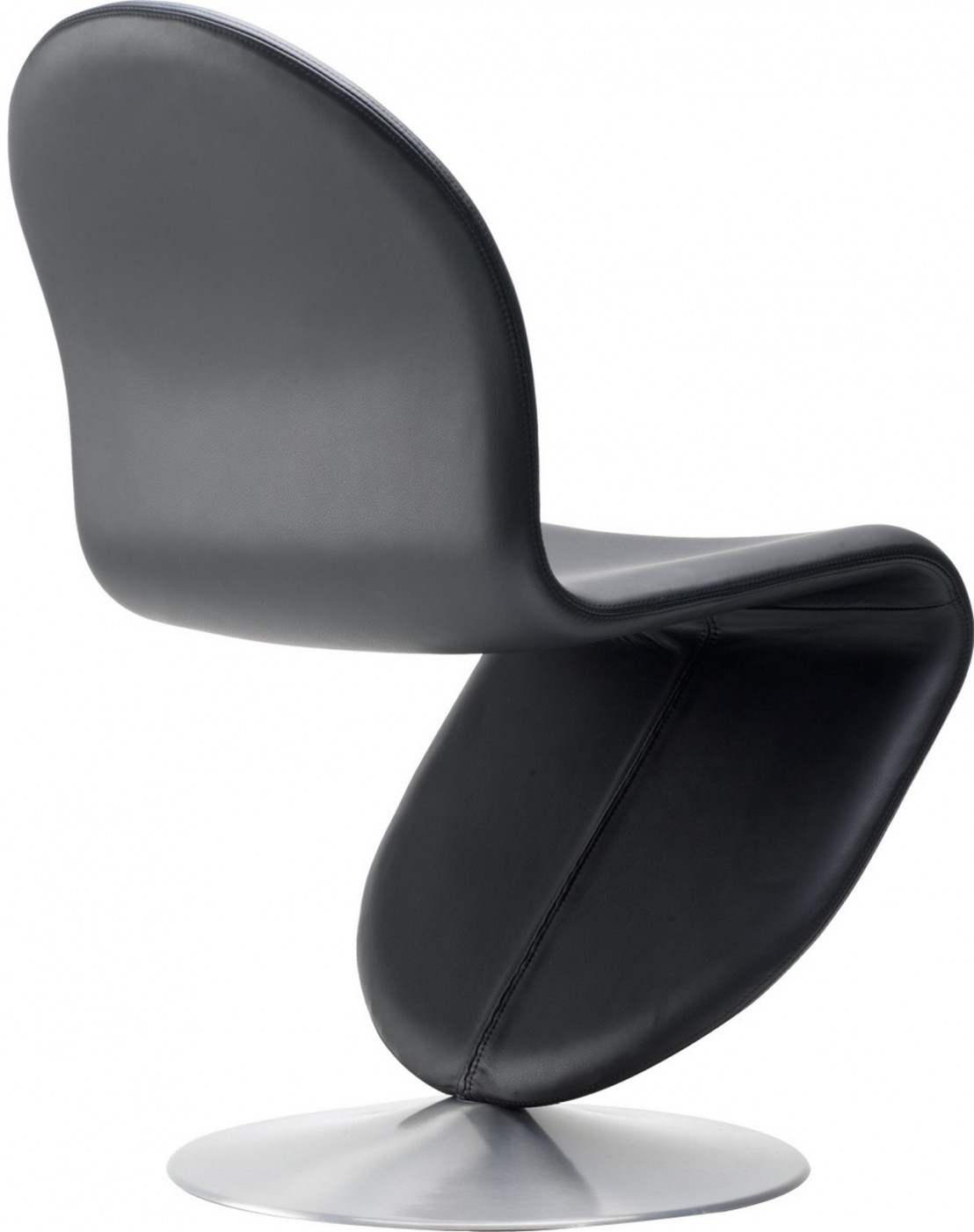 chaise verner panton dining en cuir hero maserati. Black Bedroom Furniture Sets. Home Design Ideas