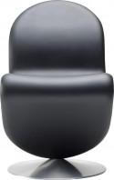 Chaise Verner Panton System 1-2-3 en cuir Verpan