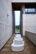 Verpan canapé Cloverleaf In et Outdoor 3 places, blanc