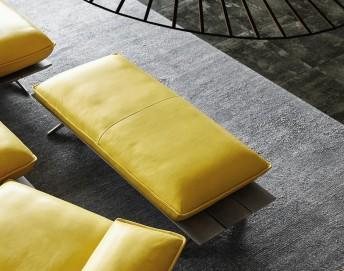 Pouf rectangle ultra design HYPEnMIAMI pivotant 144 cm