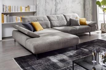 Canapé d'angle design 3,5 places MAN.FLEX avec chaise longue XL