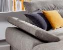 Canapé d'angle design 3.5 places MAN.FLEX avec chaise longue XL