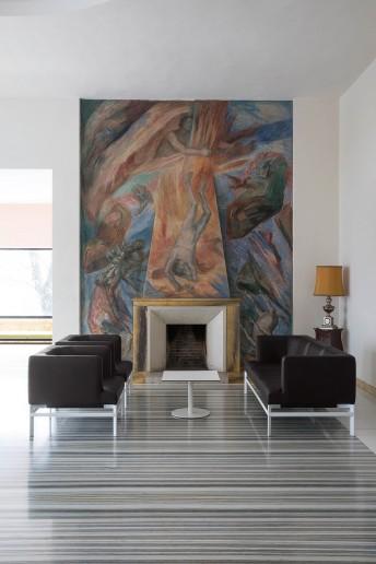 Salon PONTE, un canapé 3 places, 2 fauteuils et table basse