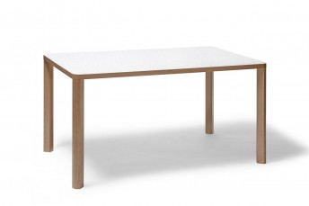 Table rectangulaire SANTIAGO 02 en hêtre plateau HPL
