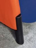 Fauteuil haut acoustique BIGA en tissu sur roulettes