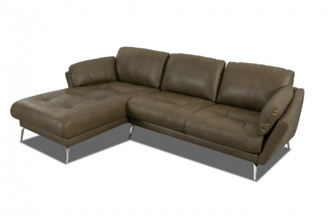 Petit canap d 39 angle avec chaise longue confort souple am melvin - Petit canape d angle ...