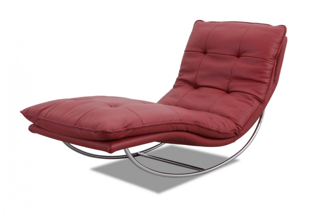 Nouvelle Chaise Longue Design En Cuir Swing Swing Livraison Gratuite