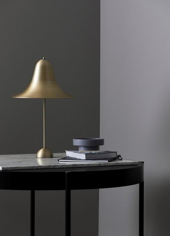 Lampe de table PANTOP large laiton antique