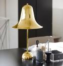 Lampe à poser Verpan Pantop laiton doré