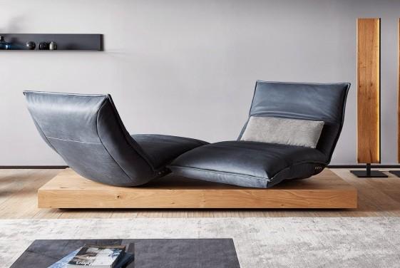 ANDERSON.DAY.LOUNGE, double chaise longue relax électrique sur banc