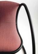 Fauteuil TIMELESS LUXY cuir ou tissu teinte au choix