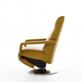 Fauteuil releveur design RUN de relaxation cuir ou tissu