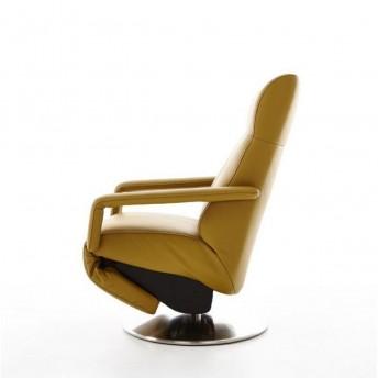 Fauteuil releveur design RUN de relaxation en cuir