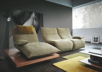 ANDERSON.DAY.LOUNGE, canapé angle chaise longue & double relax électrique s