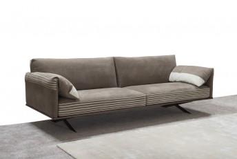 Canapé design 3 places ALLAN.K confort plumes petite profondeur
