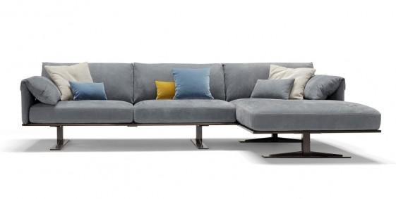 Rahman Angle Cuir Chaise 3 Canapé dkVersion Longue Places XN8OP0wZnk