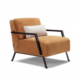 Petit fauteuil cuir LE.MARQUIS
