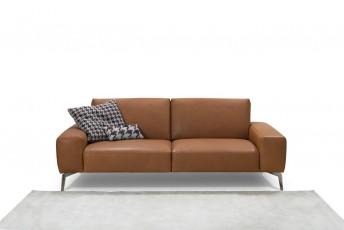 Canapé cuir RONNY.T 2 places
