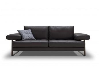 Canapé en cuir design assise réglée en profondeur Bluetooth YOUTH&SMART