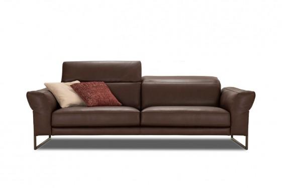 Canapé 2 places en cuir SMALL.KINGS têtières réglables