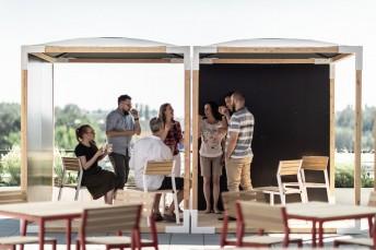 Cube module abris de jardin LEVA avec plancher & toit