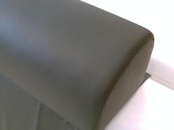 Coussin de tête appui-tête cuir ou tissu