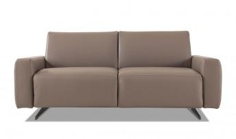 Canapé convertible cuir ou tissu SIT&SLEEP couchage 140 cm