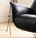 Fauteuil massant LORD.JM relaxation électrique filaire cuir ou tissu