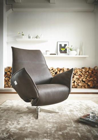 Fauteuil relaxation électrique sur batterie IDOLATION en cuir